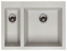 Интегрированная кухонная мойка elleci Quadra 150 59х50см искусственный гранит