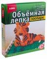 Пластилин LORI Объёмная лепка - Тигр (Ол-010)