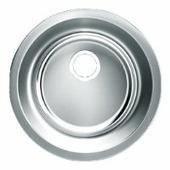 Врезная кухонная мойка UKINOX Modern MOP 446 44.6х44.6см нержавеющая сталь