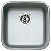 Врезная кухонная мойка TEKA BE 400/400 43.3х43.3см нержавеющая сталь