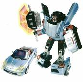 Робот-трансформер Happy Well Toyota MR2 50080