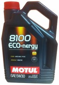 Моторное масло Motul 8100 Eco-nergy 5W30 4 л