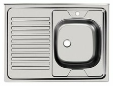 Накладная кухонная мойка UKINOX Standart STD 800.600---4C