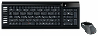 Клавиатура и мышь OKLICK 220 M Wireless Keyboard & Optical Mouse Black USB