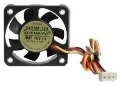 Система охлаждения для корпуса Gembird D40SM-12A-25