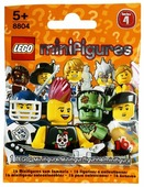 Конструктор LEGO Collectable Minifigures 8804 Серия 4