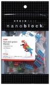 Конструктор Nanoblock Miniature NBC-034 Зеленокрылый ара