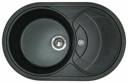 Врезная кухонная мойка Granula 7801