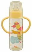 Happy Baby Бутылочка с узким горлом, с ручками 250 мл (10007) с рождения