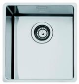 Врезная кухонная мойка smeg VSTR34 38.2х44.2см нержавеющая сталь