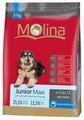Корм для собак Molina Junior Maxi