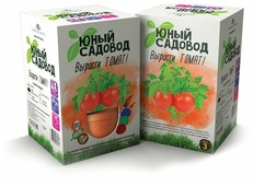Набор для выращивания Инновации для детей Юный садовод. Вырасти томат