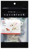 Конструктор Nanoblock Miniature NBC-030 Кролик