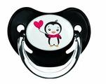 Пустышка силиконовая ортодонтическая Canpol Babies Penguin 18+ (1 шт)