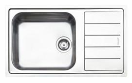 Врезная кухонная мойка smeg LFBG861