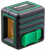 Лазерный уровень ADA instruments CUBE MINI GREEN Home Edition (А00498)