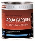 Лак Parade Professional L50 Aqua Parquet, акрил-уретановый, паркетный, матовый, 4603292019352, прозрачный, 0.75 л