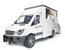 Фургон Bruder с лошадью Mercedes-Benz Sprinter (02-533) 1:16 45.5 см