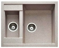 Врезная кухонная мойка Gerhans C01 61х50см искусственный гранит