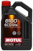 Моторное масло Motul 8100 Eco-lite 5W30 5 л