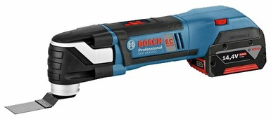 Реноватор BOSCH GOP 14,4 V-EC 4.0Ач х2 L-BOXX