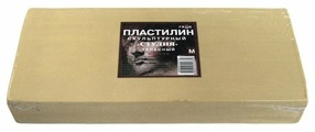 Пластилин ГАММА Студия мягкий телесный 1000 г (2.80.Е100.002)