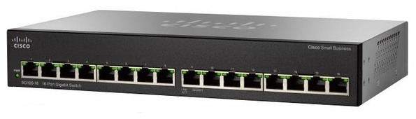 Коммутатор Cisco SG110-16HP
