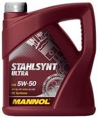 Моторное масло Mannol Stahlsynt Ultra 5W-50 4 л