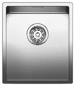 Интегрированная кухонная мойка Blanco Claron 340-F 38х44см нержавеющая сталь