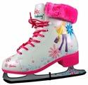 Женские фигурные коньки PowerSlide Ice 990003 Barbie Broudway