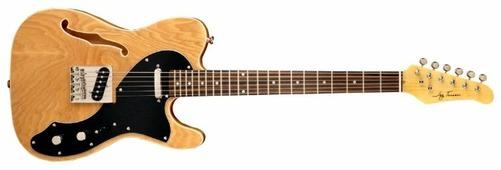 Полуакустическая гитара Jay Turser JT-LTCRUSDLX