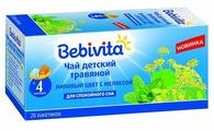 Чай Bebivita Липовый цвет с мелиссой, c 4 месяцев