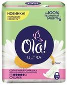 Ola! прокладки Ultra Солнечная ромашка Super Deo