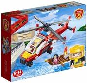 Конструктор BanBao Пожарные 7107 Вертолет спасателей