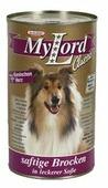 Корм для собак Dr. Alder`s МОЙ ЛОРД КЛАССИК сердце + кролик кусочки в желе Для взрослых собак