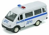 Микроавтобус Welly ГАЗель Милиция ДПС (42387APB)