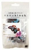 Конструктор Nanoblock Miniature IST-008 Бабочка