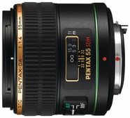 Объектив Pentax SMC DA* 55mm f1.4 SDM