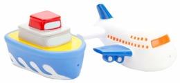 Набор для ванной Играем вместе Корабль и самолет (LXB90_256)
