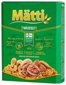 Мюсли Matti хлопья и шарики ореховый микс, коробка