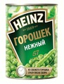 Горошек зеленый Heinz нежный, жестяная банка 400 г