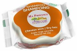 MA PROVENCE твердый шампунь Dry Hair Natural Red Clay, 85 г