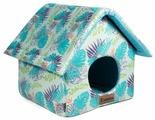 Домик для кошек, для собак Гамма Тропики Конура 36х36х38 см
