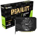 Видеокарта Palit GeForce GTX 1650 SUPER 1530MHz PCI-E 3.0 4096MB 12000MHz 192 bit DVI HDMI DisplayPort HDCP StormX OC