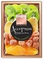 Смесь сухофруктов PUPO Gold Collection фруктовое ассорти №5 киви, манго, кумкват, имбирь в сахаре 230 г