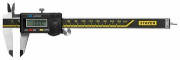 Цифровой штангенциркуль STAYER 34410-150 150 мм, 0.01 мм