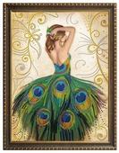 Алмазная живопись Набор алмазной вышивки Волшебное платье (АЖ-3018) 40х50 см