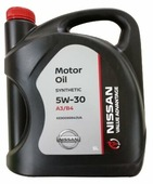 Моторное масло Nissan 5W-30 VALUE ADVANTAGE A3/B4 5 л