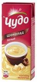 Молочный коктейль Чудо шоколад белый 3%, 200 мл
