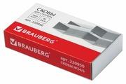 BRAUBERG Скобы для степлера 24/6, 1000 штук (220950)